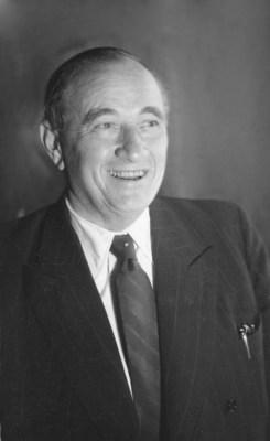 On November 10, 2015: the pioneer of the modern automobile Carl F. W. Borgward was born 125 years ago. (PRNewsFoto/BORGWARD Group AG)