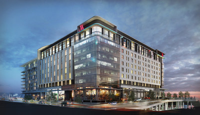 Marriott International Introduces Three New Brands to Cape Town. Shown: Johannesburg Marriott Hotel Melrose Arch