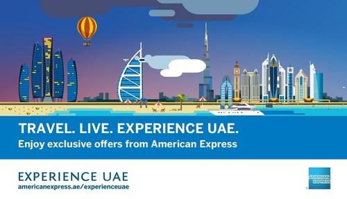 'Experience UAE' Campaign (PRNewsFoto/American Express Middle East) (PRNewsFoto/American Express Middle East)