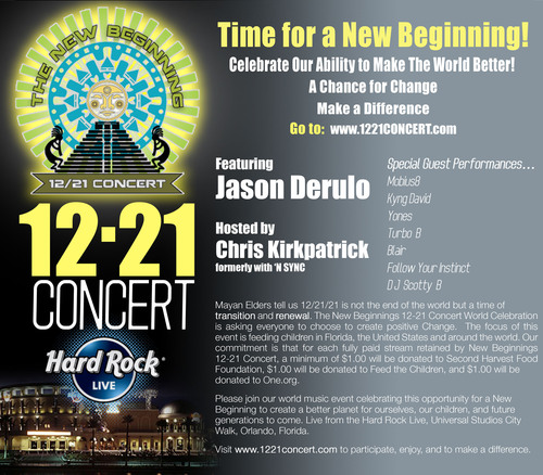 MPIX Announces 1221Concert.com Live Streaming Site For The New Beginnings 12-21 Concert