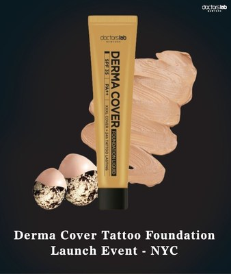 Derma Cover Tattoo Foundation in NYC!