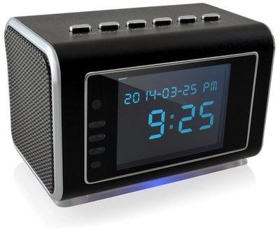 Foscam FHC52 Motion Detection Hidden Clock Radio Mini Camera & DVR with Night Vision, Webcam Function, Long Record Mode, and More