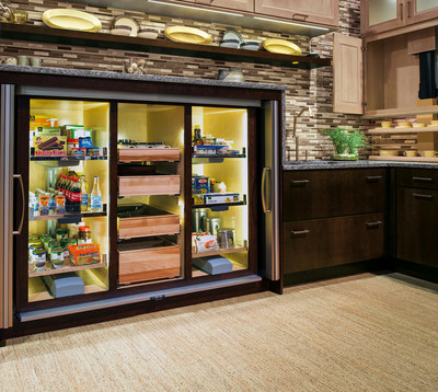 Store away all your kitchen needs in this You Draw It pantry! This pantry is designed to maintain all your organization in the kitchen and provide endless room for storage!