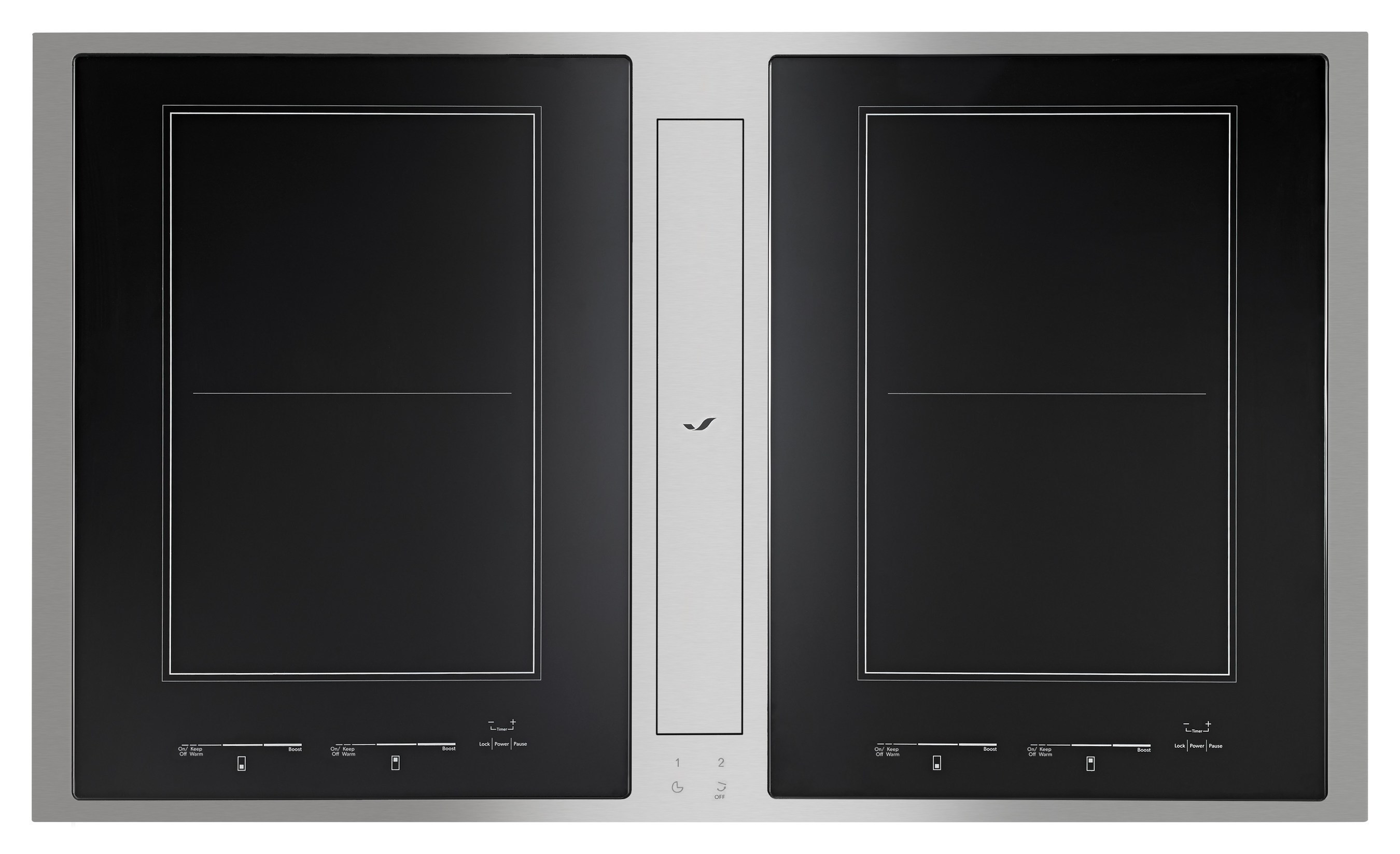 First Induction Downdraft Cooktop from Jenn-Air