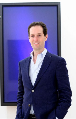 Noah Horowitz, Executive Director, The Armory Show.  (PRNewsFoto/XOJET)