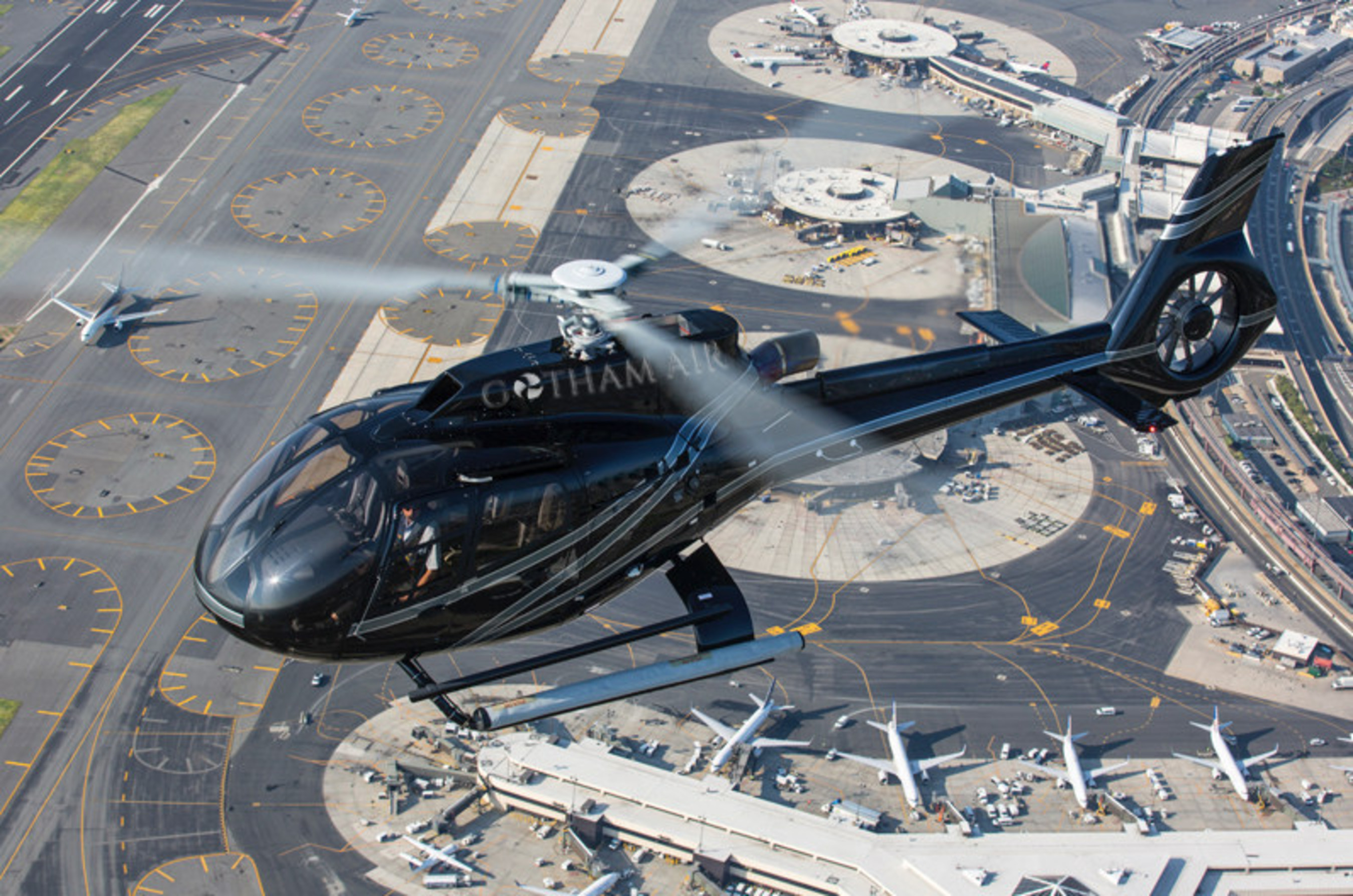 Bell 407 Helicopter - Courtesy of Gotham Air