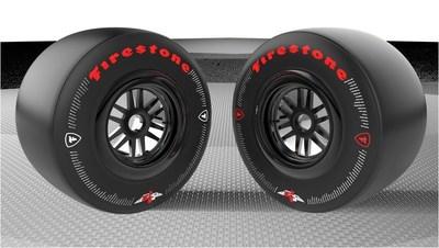 Firestone's commemorative Indy 500 race tire