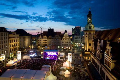 Bachfest Leipzig: BACHmosphere on Leipzig Market Square