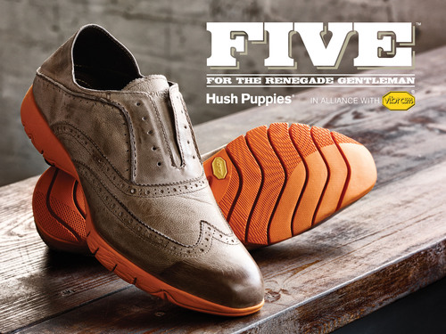 Hush Puppies Collaborates with Vibram in FIVE, an Innovative Men's Fashion Collection
