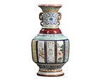 Sold for $24.7 Million. Monumental Fencai Flower and Landscape Vase, China, Imperial Qianlong period. (PRNewsFoto/Skinner, Inc.)
