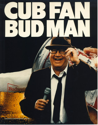 Budweiser Pays Homage to the Cub Fan Bud Man Harry Caray