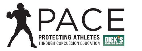 Dick's Sporting Goods, PACE Program Protecting Athletes Through Concussion Education.  (PRNewsFoto/Dick's Sporting Goods, Inc.)