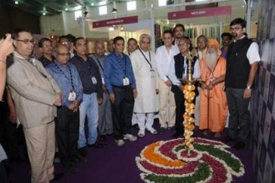 PR NEWSWIRE INDIA - Dignitaries at the inauguration of UBM India's maiden edition in Gujarat - The Gujarat Jewellery and Gem fair (GJGF) 2014, Ahmedabad