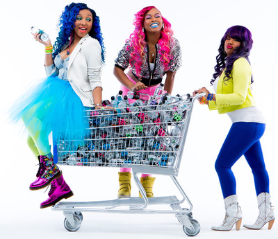WAT-AAH! Announces Its Partnership With Teen Pop Sensations The OMG Girlz, Continuing Its Commitment To Make Drinking Water Cool To Kids And Teens.  (PRNewsFoto/WAT-AAH!)