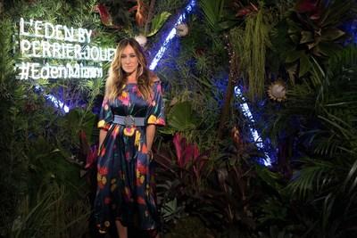 Sarah Jessica Parker at L'Eden By Perrier-Jouët (PRNewsFoto/Maison Perrier-Jouët)