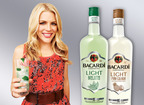 BACARDI and Busy Philipps toast to a beautiful friendship this summer, partnering to introduce the new line of BACARDI Classic Cocktails Light in Pina Colada and Mojito flavors.  (PRNewsFoto/Bacardi U.S.A., Inc.)