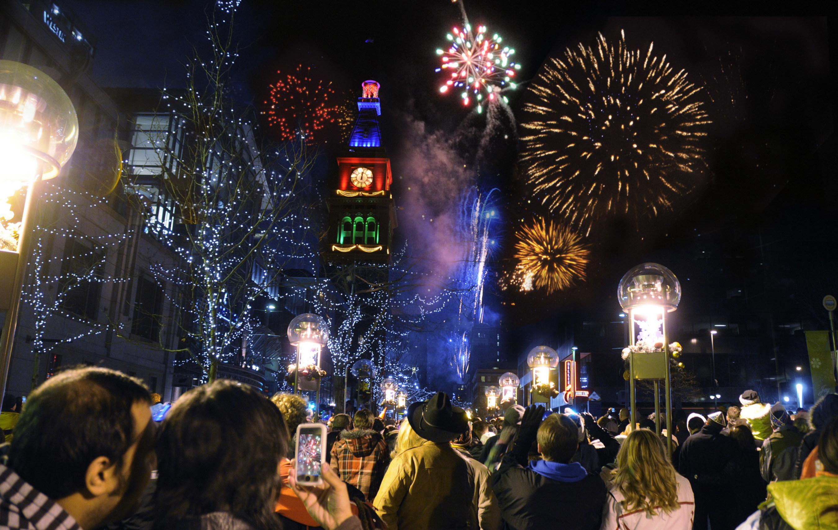 Denver Rings in 2016 with Grand Celebrations