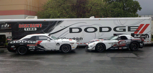 Two-Time Formula DRIFT Champ Hubinette to Field Two-Car Dodge Team in 2011