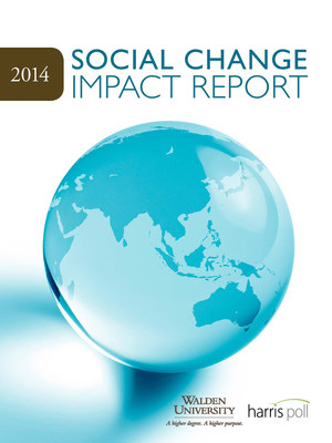 Walden University Survey Finds Social Change Agents Focus On the Long Term