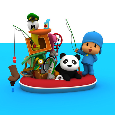 Pocoyo and Friends.  (PRNewsFoto/Zinkia Entertainment)