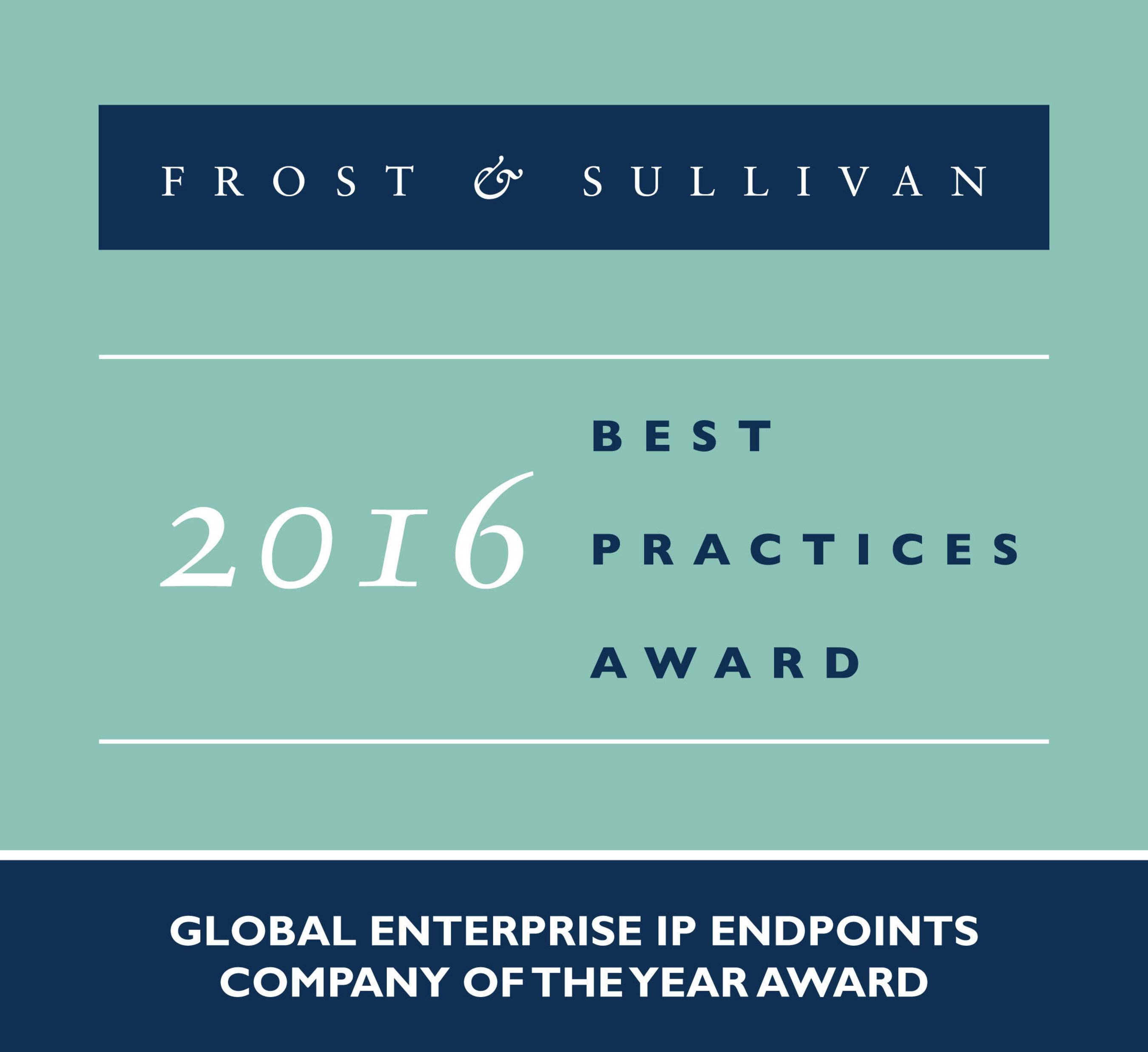 Frost & Sullivan Honors Grandstream with Global Enterprise