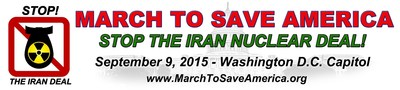 March To Save America Campaign Opposes Iran Nuclear Deal