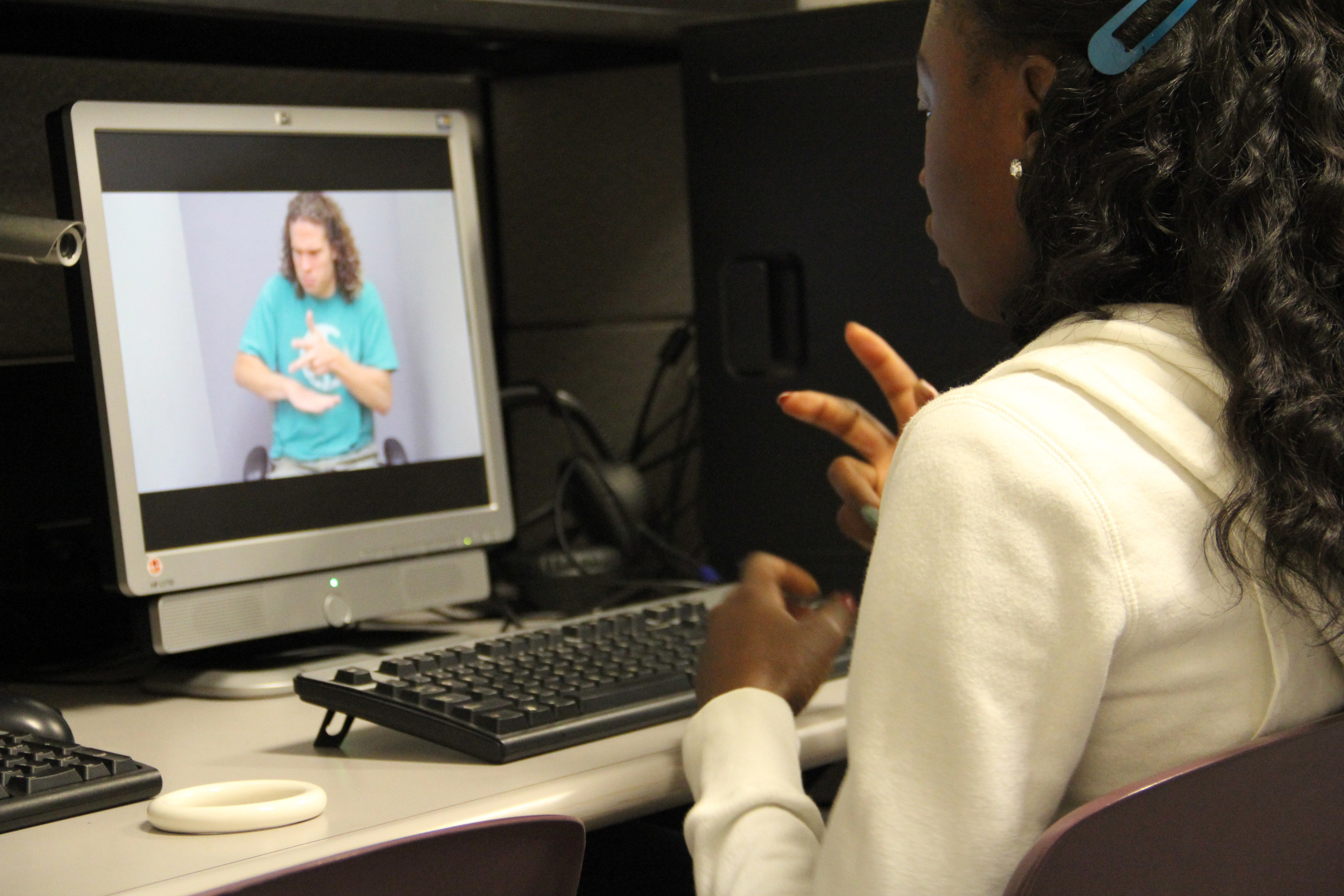 Mount Aloysius students use a dedicated interactive lab to hone their skills.