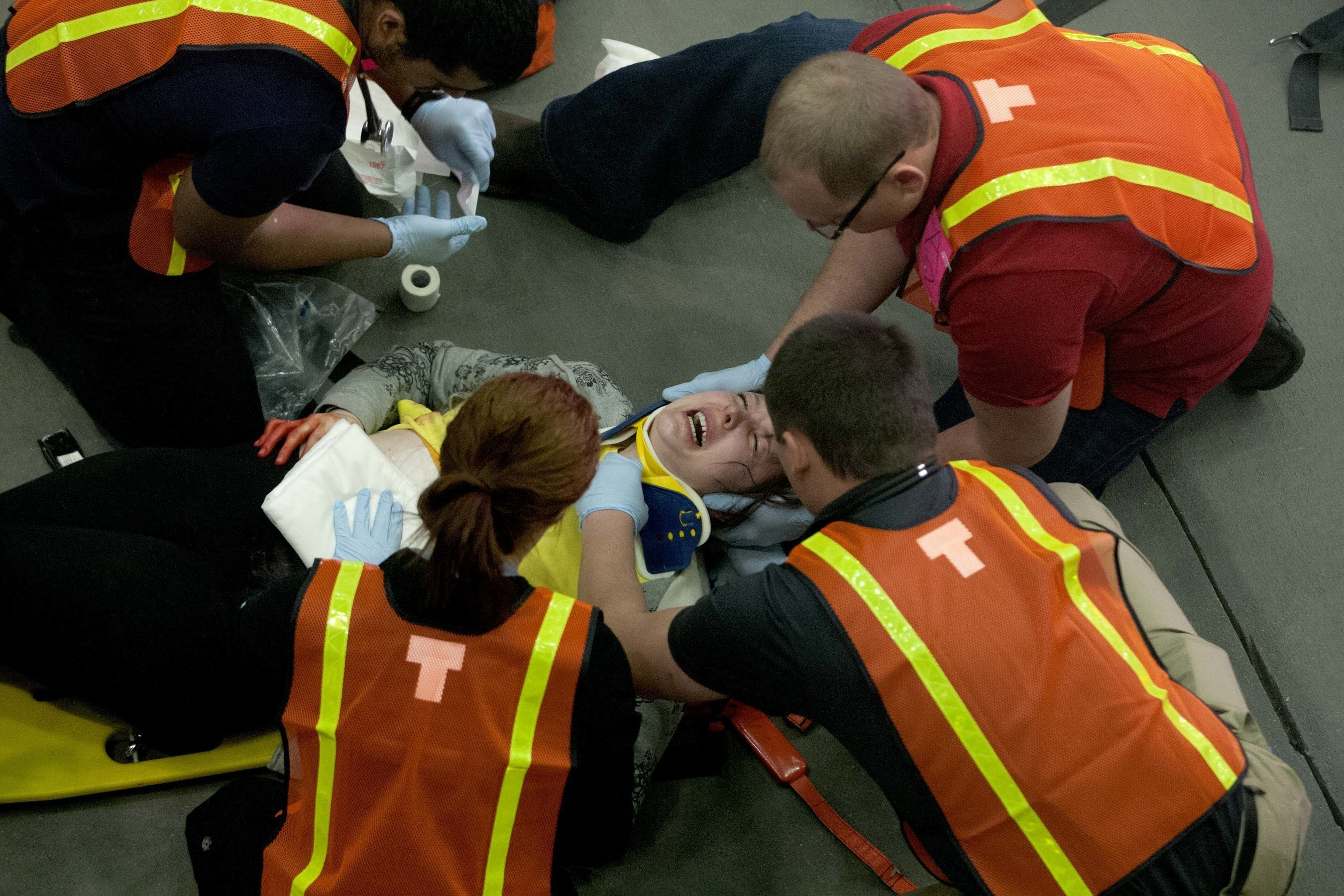 College of DuPage recently received an Illinois Council of Community College Administrators Innovation Award (ICCCA) for a first responder and health care team collaboration exercise held at the Glen Ellyn campus this spring.
