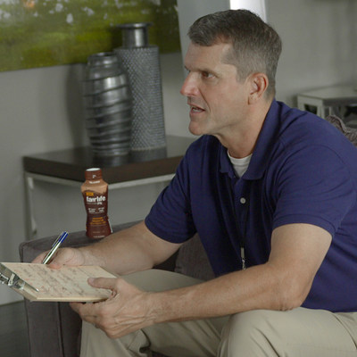 Jim Harbaugh and family highlight nutrients found in fairlife ultra-filtered milk through new Onion Labs video series.