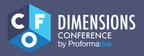 Proformative Announces 2012 CFO Dimensions™ Awards for Excellence