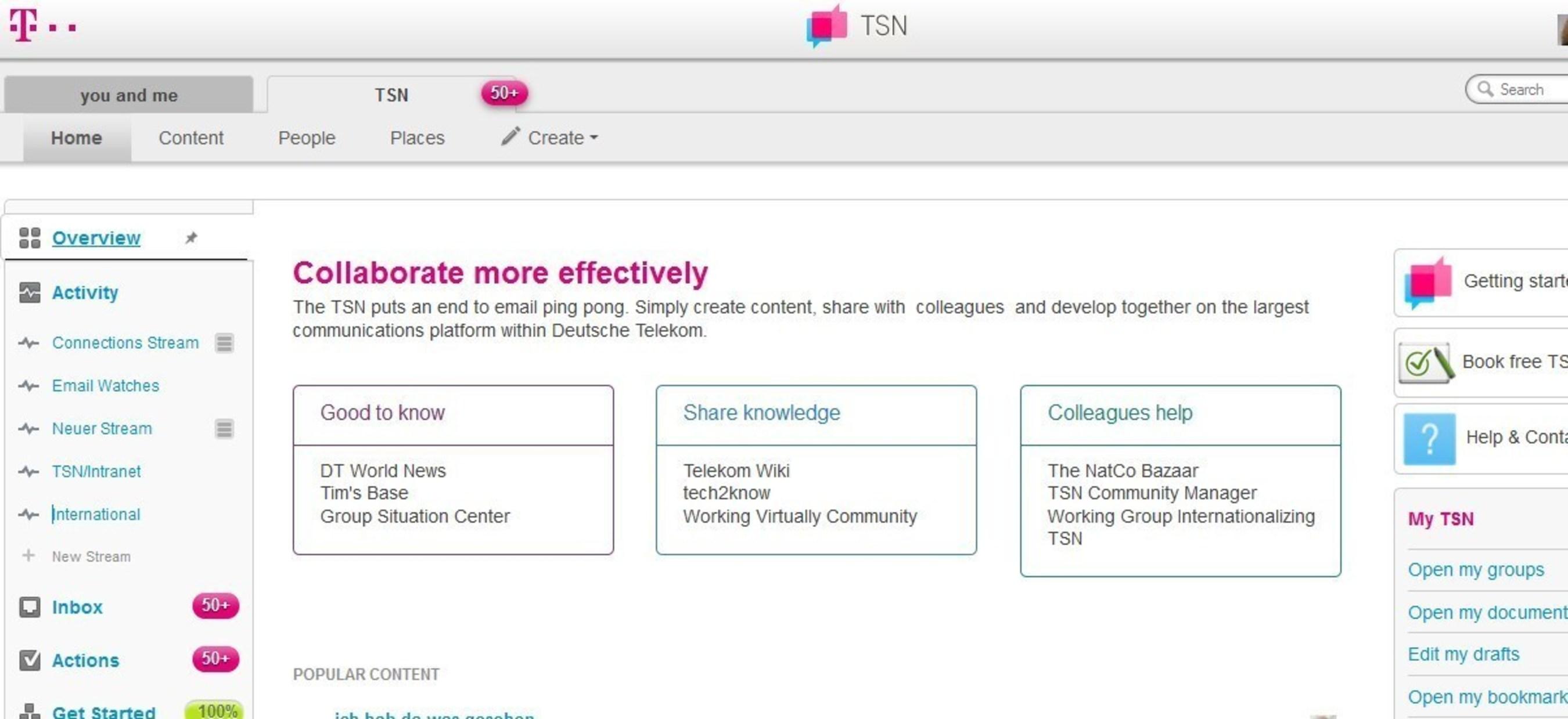 Deutsche Telekom's Award-Winning, Jive-Powered Intranet Surpasses 100,000 Users