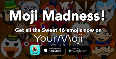 YourMoji Sweet 16 Emojis