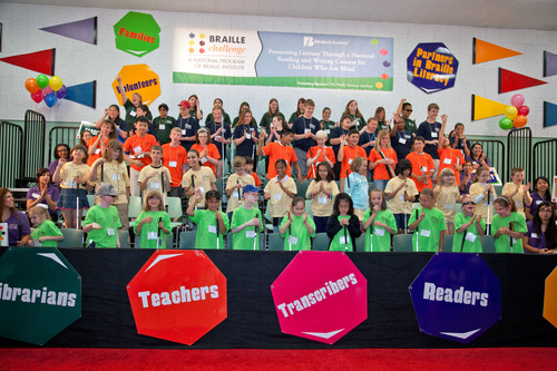 Nation's Braille Whiz Kids Compete in Unique Academic Competition