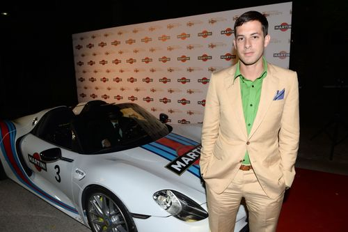 Mark Ronson MARTINI© CELEBRATES 150 YEARS OF ITALIAN STYLE AT GLITTERING ANNIVERSARY GALA  IN LAKE COMO, ITALY
