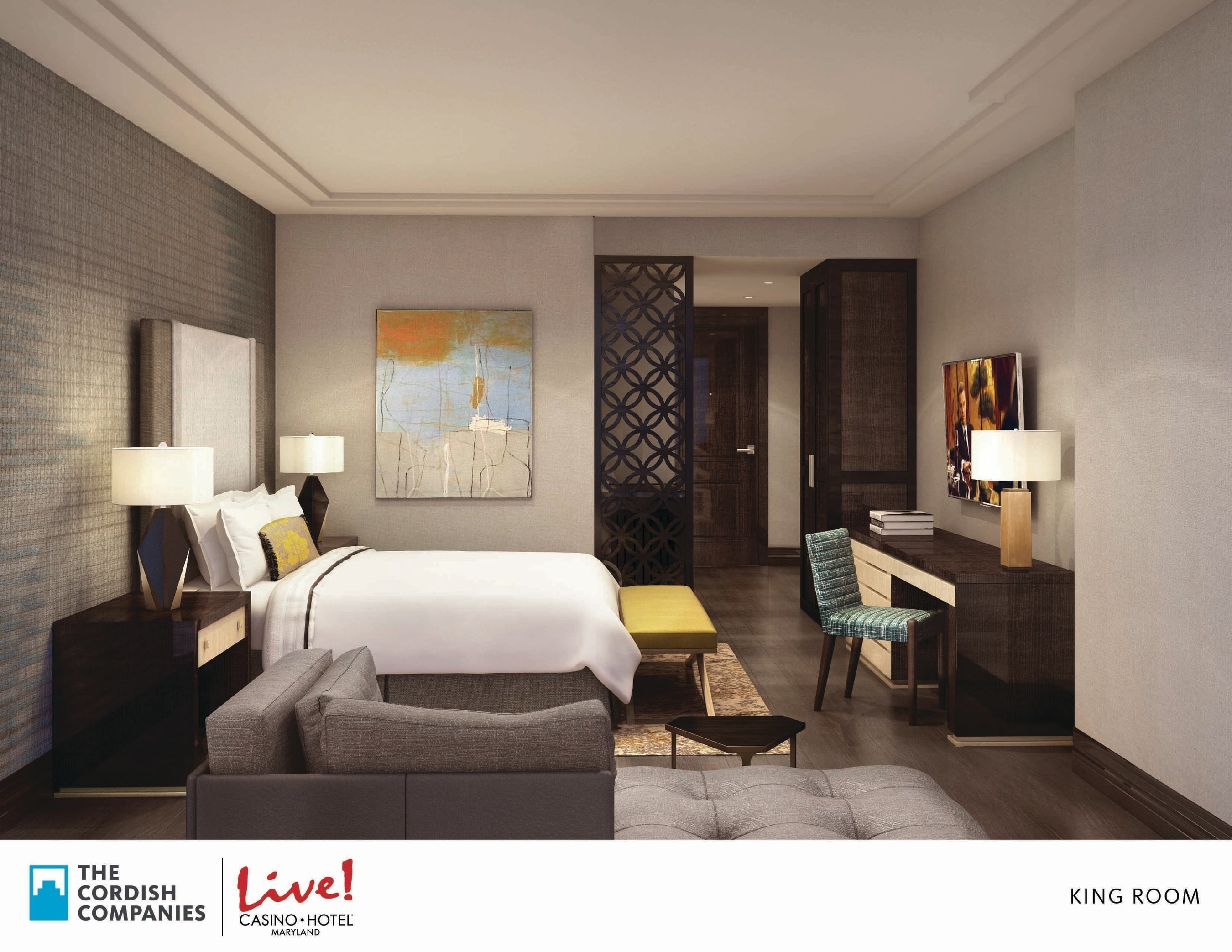 The Cordish Companies Unveil Vision for Flagship LIVE! HOTEL - a new $200 million luxury hotel, spa and event center at Maryland Live! Casino in Hanover, Maryland. The new project will add hundreds of permanent new jobs and expand amenities at the region's top gaming and entertainment destination.