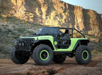 "Jeep(R) ""Trailcat"" Concept is one of seven vehicles built for 50th Annual Easter Jeep Safari in Moab, Utah"