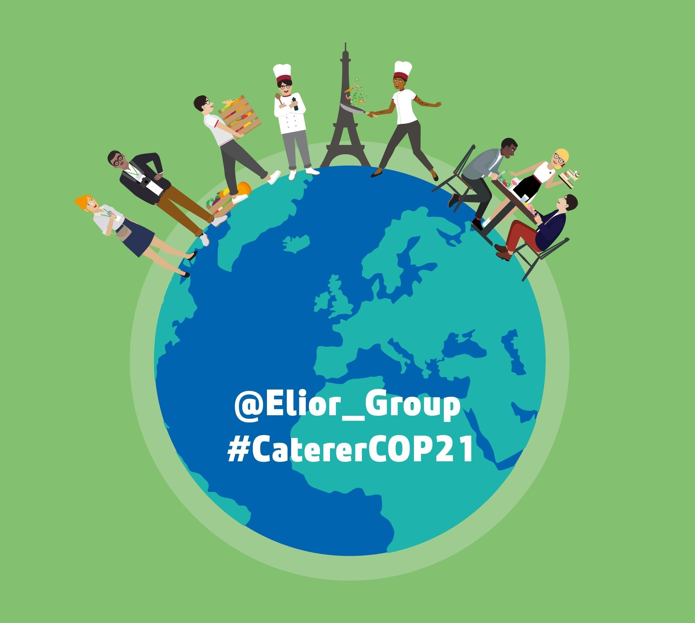 Elior Group, official caterer, UN Climate Conference, @Elior_Group, #CatererCOP21