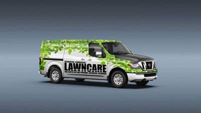 Nissan Partners with Original Wraps, Inc. for Graphic Personalization of New NV Commercial Van.  (PRNewsFoto/Nissan North America)