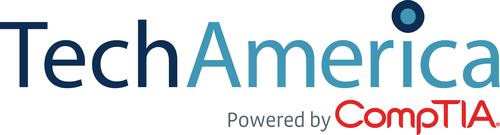 TechAmerica Powered by CompTIA logo (PRNewsFoto/TechAmerica Powered by CompTIA)