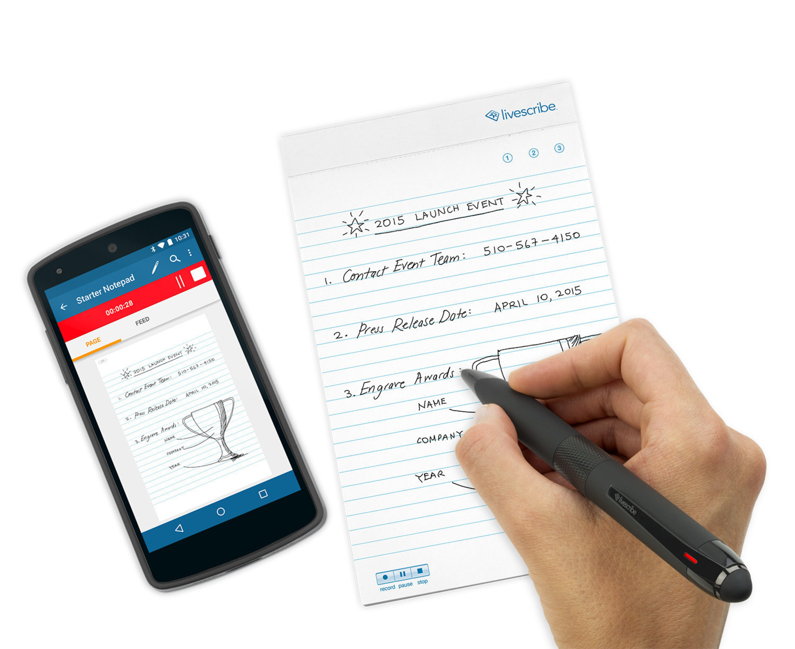 Livescribe has revealed the Livescribe 3 Black Edition smartpen, a new and refined addition to the company's popular Livescribe 3 line of smartpens. The Livescribe 3 Black Edition is available today for $149.95.