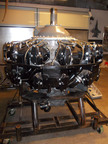 Cyclone Engine: 2600-3, 1942 Factory Overhaul, was originally intended for PanAm's China Clipper - Boeing 314.  Just one of many items to be auctioned off on Sat, March 2 in Fort Worth.  (PRNewsFoto/Greatest Generation Aircraft)