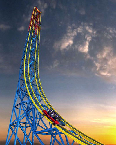 Six Flags Magic Mountain Recaptures Coveted World Record of More Coasters than Any Other Theme Park