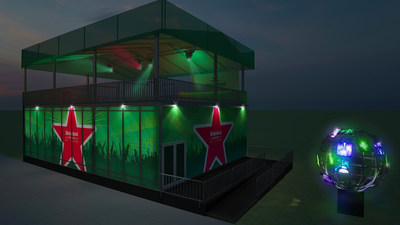 The Heineken House, returning to ULTRA MUSIC FESTIVAL, March 27-29 at Bayfront Park in Miami, will feature a unique DJ simulation experience, photo opportunities, dancers and ice cold Heineken.