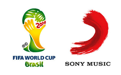 FIFA, Sony Music Entertainment Logo.  (PRNewsFoto/Sony Music Entertainment)