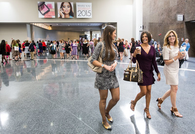 More than 27,000 attendees convene in Dallas for Mary Kay's annual Seminar. The event, comprised of five back-to-back conferences, recognizes and rewards the successes of Mary Kay's independent sales force while delivering $30 million in economic impact to North Texas.