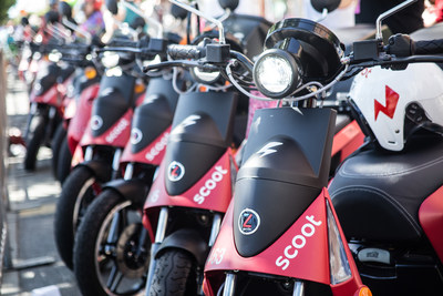 Scoot expands fleet with financing led by Mahindra Partners & Vision Ridge Capital. Pictured here is the GenZe 2.0, the newest Scoot to join the expanding fleet.