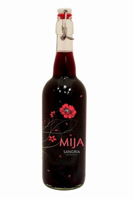 Mija Sangria flip top 750ml bottle.