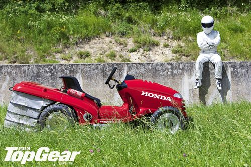 Stig and the 130 mph Honda mower