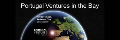 Portugal Ventures in the Bay event, at NestGSV, 425 Broadway Street, Redwood City, on 7th November from 4pm to 7pm.  (PRNewsFoto/Portugal Ventures)