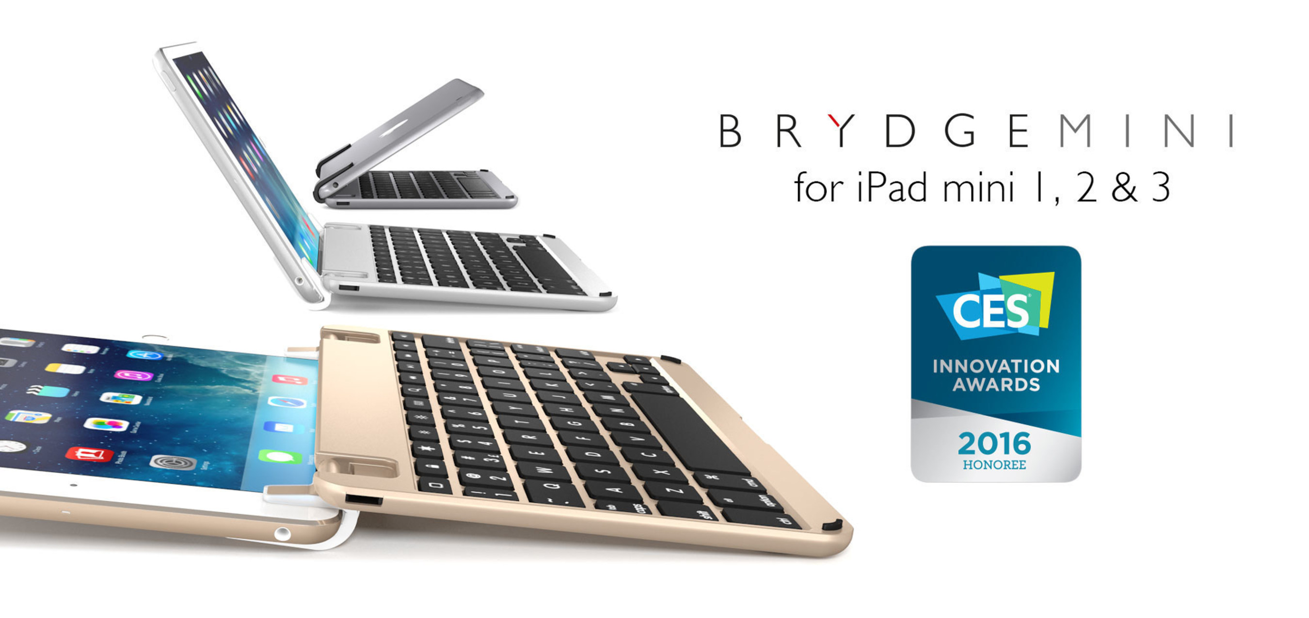 Brydge Debuts the Perfect Companion for the iPad mini: The BrydgeMini
